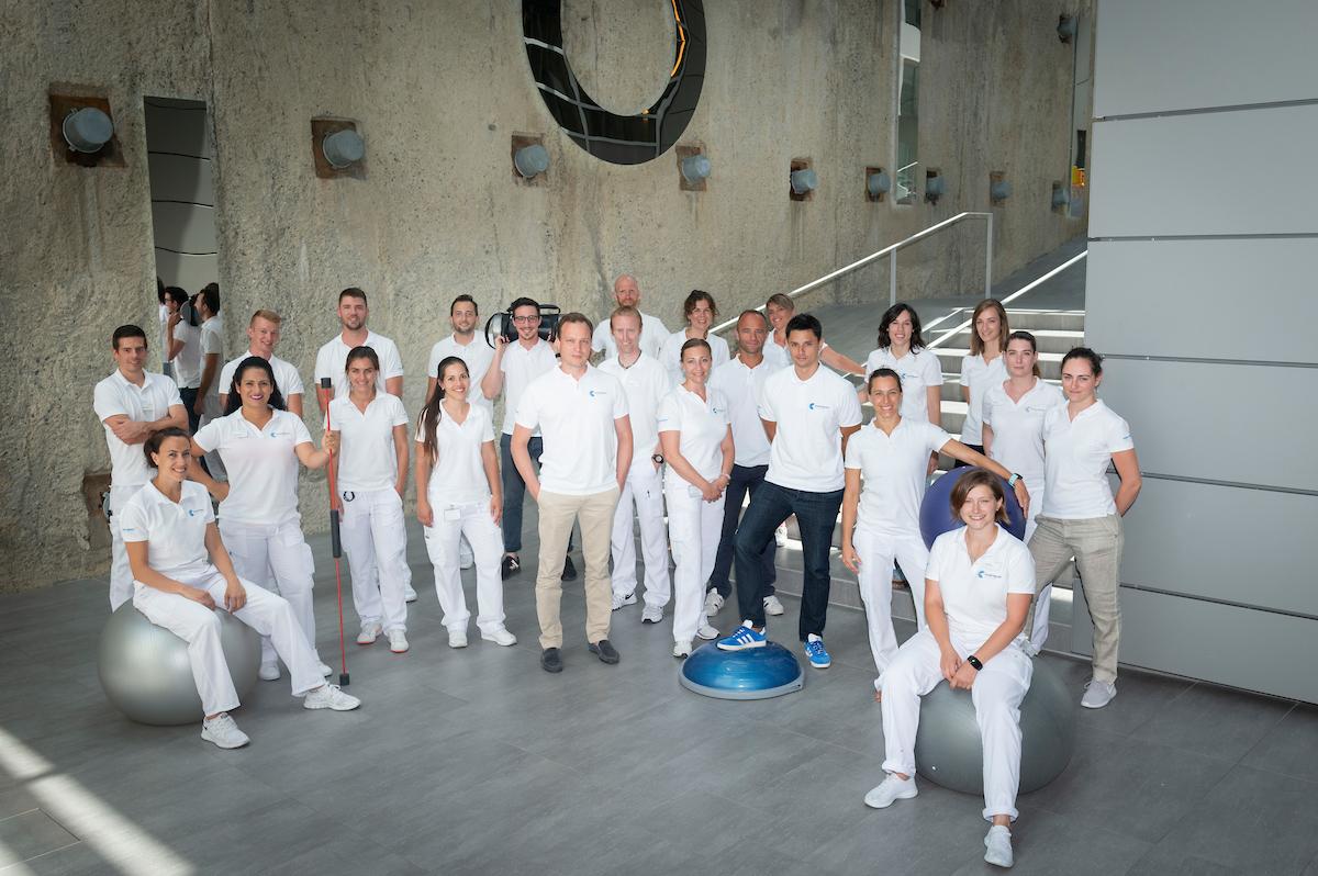 Equipe physiothérapeutes La Colline Genève